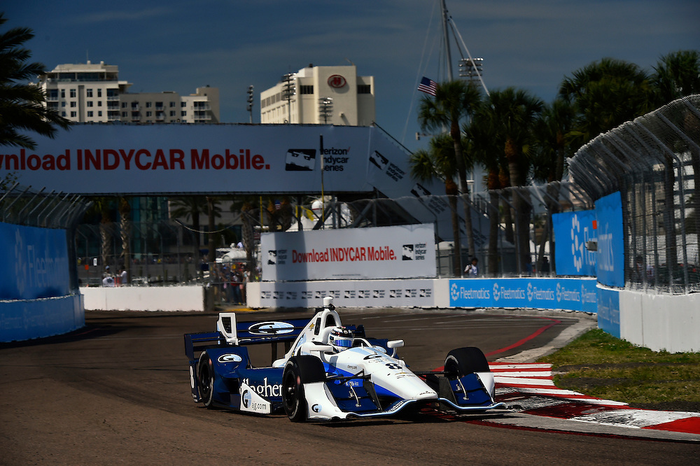 11-13 March, 2016, St Petersburg, Florida USA<br /> 8 Max Chilton<br /> &copy;2016 Scott R LePage <br /> LAT Photo USA