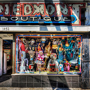 Colorful store fronts found in San Francisco's Haight District. Photo by Jennifer Rondinelli Reilly.