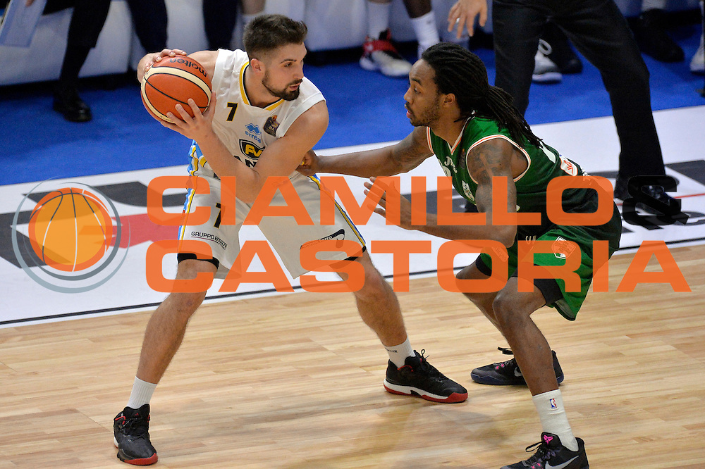 Fabio Mian<br /> Vanoli Cremona - Sidigas Avellino<br /> Lega Basket Serie A 2016/2017<br /> Cremona, 18/12/2016<br /> Foto Ciamillo-Castoria