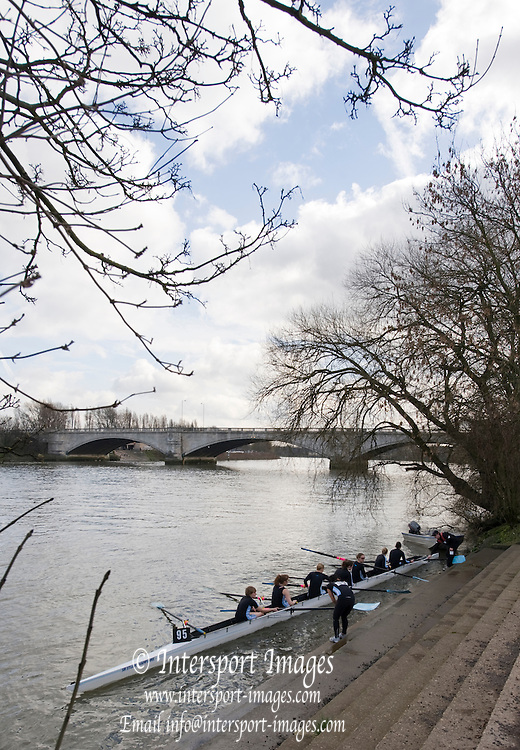 London, Great Britain,  General Views,  GV's, Putney Town RC Boathouse and boating area, 2009 Women's Head of the River Race, raced over Rowing Course Championship course,  Mortlake to Putney  4.25 Miles, on the River Thames.   Saturday, 07.03.2009. [Mandatory Credit: © Peter Spurrier/Intersport Images]