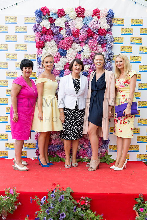 NO REPRO FEE<br /> Pictured at the annual Ardfield (West Cork) Summer Festival Fashion show were Violet Hayes (Lough Hyne), Kate O'Sullivan, Marie Nyhan, Louise &amp; Alisha Nyhan (Ardfield)<br /> Photography by: Emma Jervis