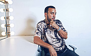 French Montana Shoot for BET. (Photo by Bennett Raglin)