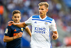 Marc Albrighton of Leicester City - Mandatory by-line: Robbie Stephenson/JMP - 01/08/2018 - FOOTBALL - King Power Stadium - Leicester, England - Leicester City v Valencia - Pre-season friendly