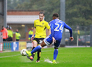 Burton's Tottenham Hotspur loanee Will Miller (18) during the EFL Sky Bet Championship match between Burton Albion and Cardiff City at the Pirelli Stadium, Burton upon Trent, England on 1 October 2016. Photo by Richard Holmes.