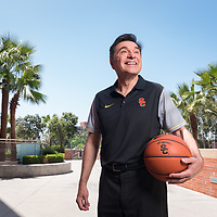 USC Women's Basketball | Coach Mark Trakh