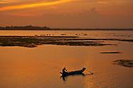 sunset fishing Pottuvil Sri Lanka