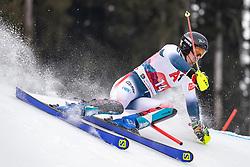26.01.2020, Streif, Kitzbühel, AUT, FIS Weltcup Ski Alpin, Slalom, Herren, im Bild Victor Muffat-Jeandet (FRA) // Victor Muffat-Jeandet of France in action during his run in the men's Slalom of FIS Ski Alpine World Cup at the Streif in Kitzbühel, Austria on 2020/01/26. EXPA Pictures © 2020, PhotoCredit: EXPA/ Johann Groder