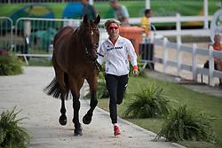 Klimke Ingrid, GER, Horseware Hale Bob<br /> Final Horse inspection Eventing<br /> Olympic Games Rio 2016<br /> © Hippo Foto - Dirk Caremans<br /> 09/08/16