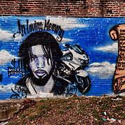 Philadelphia mural In Loving Memory
