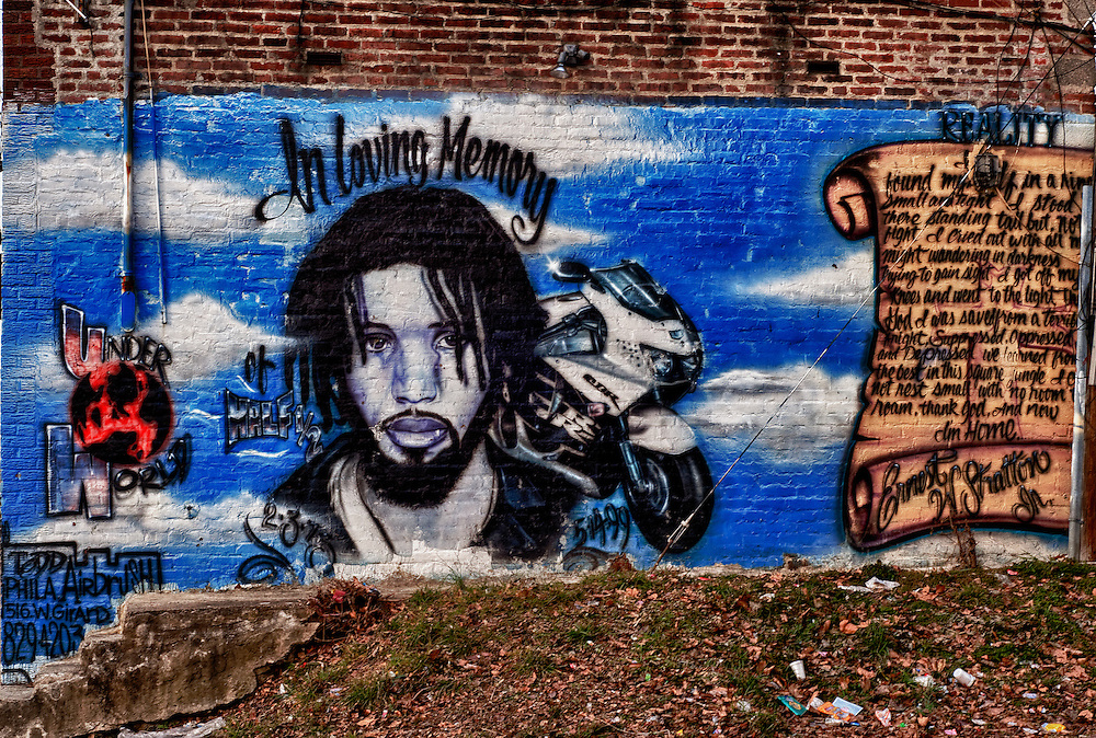 Philadelphia mural In Loving Memory