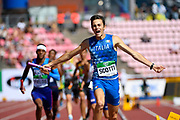 Team Italie wins the Gold Medal in 4X400 Metres Relay Men during the IAAF World U20 Championships 2018 at Tampere in Finland, Day 6, on July 15, 2018 - Photo Julien Crosnier / KMSP / ProSportsImages / DPPI