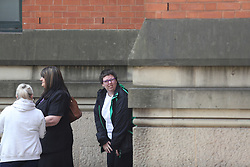 MANCHESTER UK .24.07.2017 Gemma Louise Logan  appears at Minshull Street Crown Court charged with causing a bomb hoax at Picadilly Train station   3 days after the  Manchester bombing. She appeared in court today supported by   2 nurses he court heard that due to her mental state she was unfit to enter a plea so a trial date was set for the 14th December 2017. She was released on conditional bail