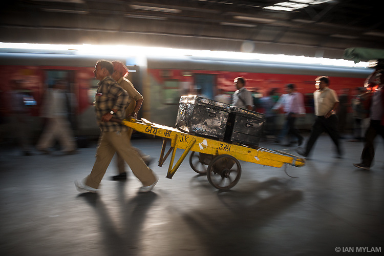New Delhi Railway Station, India