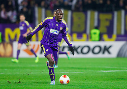 Jean Philippe Mendy of Maribor during football match between NK Maribor and Sevilla FC (ESP) in 1st Leg of Round of 32 of UEFA Europa League 2014 on February 20, 2014 at Stadium Ljudski vrt, Maribor, Slovenia. Photo by Vid Ponikvar / Sportida