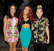 27.JUNE.2012. LONDON<br /> <br /> STOOSHE ATTEND ZOE'S COCKTAIL PARTY IN LONDON.<br /> <br /> BYLINE: EDBIMAGEARCHIVE.CO.UK<br /> <br /> *THIS IMAGE IS STRICTLY FOR UK NEWSPAPERS AND MAGAZINES ONLY*<br /> *FOR WORLD WIDE SALES AND WEB USE PLEASE CONTACT EDBIMAGEARCHIVE - 0208 954 5968*
