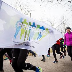 20170218: SLO, Marathon - Priprave za Ljubljanski maraton 2017