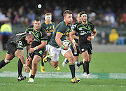 CAPE TOWN, SOUTH AFRICA - Saturday 11 July 2015, Handre Pollard of South Africa during the rugby test match between South Africa (Springboks) and the Word XV at Newlands Rugby stadium.<br /> Photo by Luigi Bennett / ImageSA