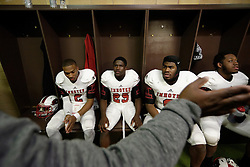 Scene from the side line of the 2015 PIAA 3A State Championship Finals Imhotep Panthers of Philadelphia vs. Cathedral Prep Ramblers of Erie. (photo by Bastiaan Slabbers)