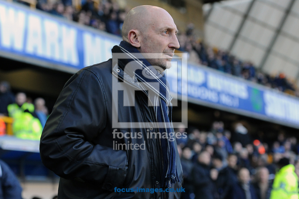 Manager of Millwall Ian Holloway during the Sky Bet Championship match at The Den, London<br /> Picture by Seb Daly/Focus Images Ltd +447738 614630<br /> 17/01/2015