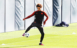 Leroy Sane of Manchester City - Mandatory by-line: Matt McNulty/JMP - 18/10/2016 - FOOTBALL - Manchester City - Training session ahead of Champions League qualifier against FC Barcelona