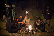 Flüchtlingscamp Idomeni: Mehr als zehntausend Flüchtlinge stecken teilweise seit Wochen an der griechisch-mazedonischen Grenze bei Idomeni fest, nachdem die meisten Länder der Balkanroute ihre Grenzen geschlossen haben.
