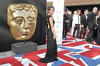 LONDON - MAY 27: Paula Lane attends the Arqiva British Academy Television Awards at the Royal Festival Hall, London, UK. May 27, 2012. (Photo by Richard Goldschmidt)
