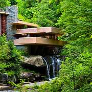 """""""Wishes on Fallingwater""""<br /> <br /> Beautiful Fallingwater in the scenic Laurel Highlands of PA. A wonderful summertime view!!<br /> <br /> Laurel Highlands Area of Pennsylvania by Rachel Cohen"""