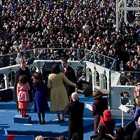 Inauguration of President Barack Obama as 44th President of the United States of America. US Capitol, Washington, DC. 1/20/09. Photo by Lisa Quinones/Black Star.