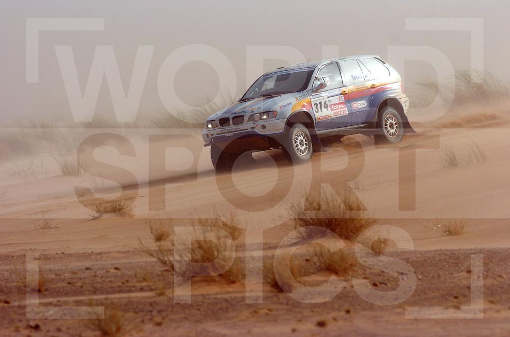 070112  dakar 2007..no: 314 Jose Luis Monterde Jean-Marie Lurquin BMW..fotografie frank uijlenbroek©2007 frank uijlenbroek