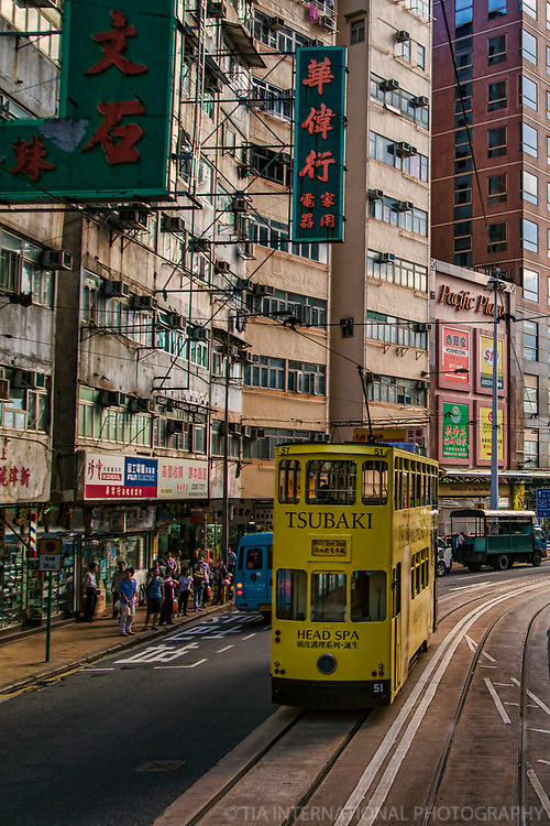 Electric Tram @ Pacific Plaza, Sai Wan