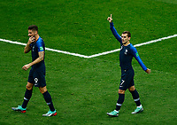 Antoine Griezmann (France) celebration after 1-0<br /> Moscow 15-07-2018 Football FIFA World Cup Russia  2018 Final / Finale <br /> France - Croatia / Francia - Croazia <br /> Foto Matteo Ciambelli/Insidefoto