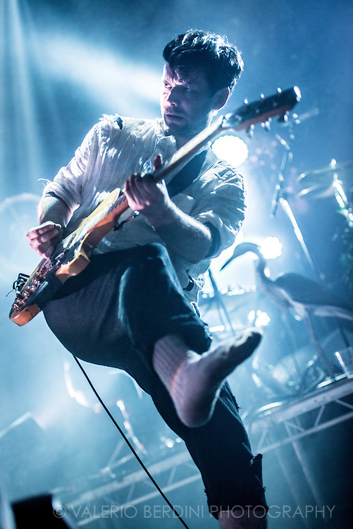 British Sea Power live on stage at the Roundhouse in Camden Town, London on 13 of June 2015