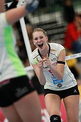 20190131 NED: Semi Final Cup Sliedrecht Sport - Eurosped, Sliedrecht <br />Kirsten Wessels (5) of Team Eurosped Twente<br />©2019-FotoHoogendoorn.nl / Pim Waslander