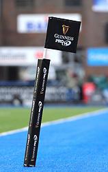 Guinness Pro 14 branding - Mandatory by-line: Nizaam Jones/JMP- 24/03/2018 - RUGBY - BT Sport Cardiff Arms Park- Cardiff, Wales - Cardiff Blues v Ulster Rugby - Guinness Pro 14