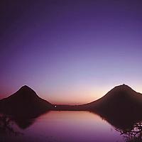 Sunset over the lake, Puskhar, India
