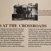 The Brice House was located at what at the crossroads of the battle and why the battlefield in Baldwyn is known as Brice's Crossroads.