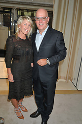 RAY & KERRY FINE he is an associate director at Tottenham Hotspur FC at the draw for the Jaeger-LeCoultre Gold Cup held at Jaeger-LeCoultre, 13 Old Bond Street, London on 8th June 2015.