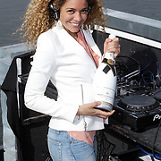 NLD/Amsterdam/20120419 - Lancering Moet Ice Imperial, dj Fajah Lourens