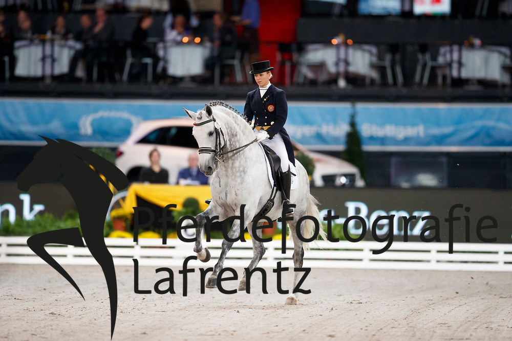 Caetano, Maria (POR) Coroado<br /> Stuttgart - German Masters 2016<br /> © www.sportfotos-lafrentz.de