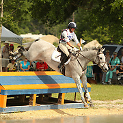 Jennie Brannigan and Cooper at the Florida International Three Day Event held April 17-20, 2008 in Ocala, Florida.