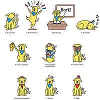 Elaboração de mascote da franquia de escolas de inglês.
