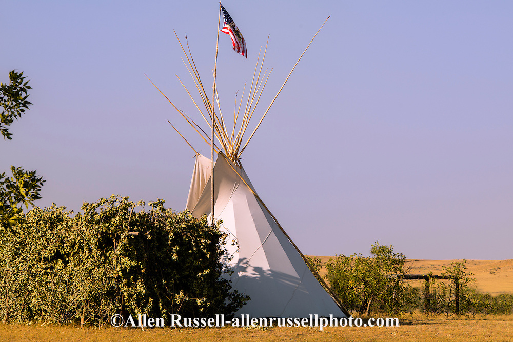 Tipi, Crow Fair, Crow Indian Reservation, Montana