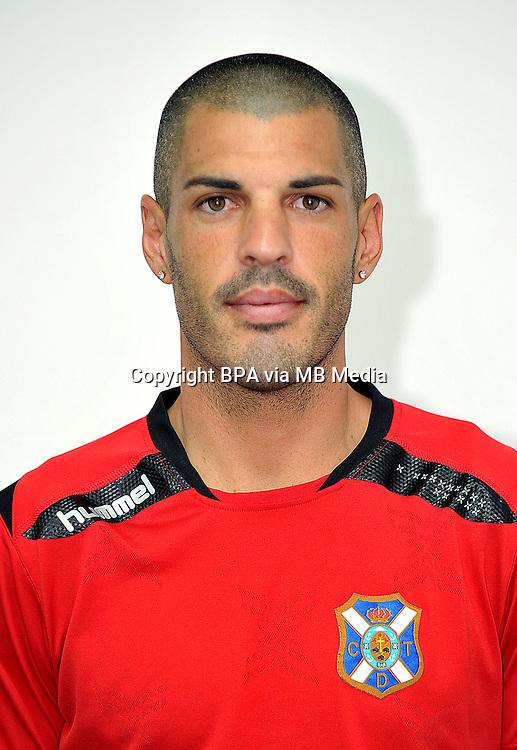 Spain - La Liga Adelante 2014-2015 / <br /> ( Club Deportivo Tenerife ) - <br /> Jacobo Sanz Ovejero