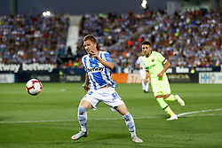 September 26, 2018 - Raul of Leganes during the La Liga (Spanish Championship) football match between CD Leganes and FC Barcelona on September 26th, 2018 at Municipal Butarque stadium in Madrid, Spain. (Credit Image: © AFP7 via ZUMA Wire)