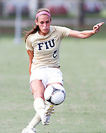 FIU Women's Soccer Vs. Jacksonville Dolphins.  FIU was victorious on a game winning final seconds goal by Marie Egan to seal the deal for FIU 2-1.  Game was played on Sunday August 20, 2012 at FIU Soccer Stadium.