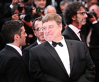 Oscar Isaac,John Goodman, Joel Coen, .at the The Coen brother's new film 'Inside Llewyn Davis' red carpet gala screening at the Cannes Film Festival Sunday 19th May 2013