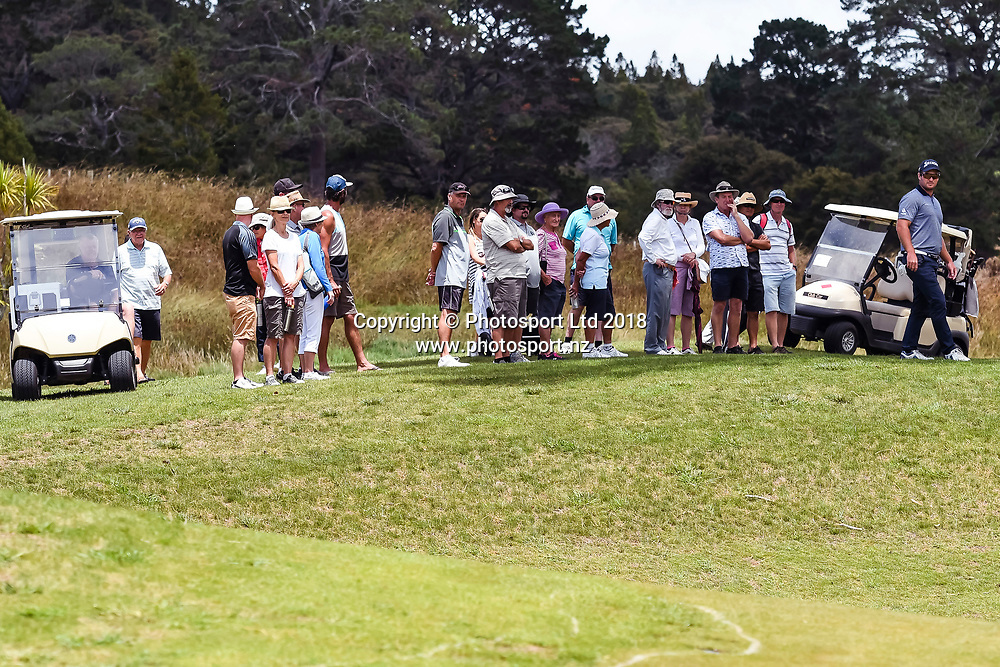 Supporters.<br /> NZ Rebel Sports Masters, Wainui Golf Club, Wainui, Auckland, New Zealand. 14 January 2018. &copy; Copyright Image: Marc Shannon / www.photosport.nz.