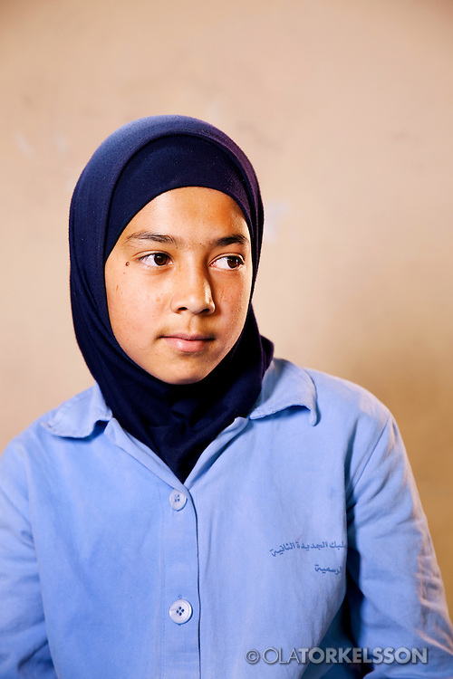 Zainab (not her real name) is 14 years old and comes from the Al Qusayr area in Syria.<br /> Photos Ola Torkelsson <br /> Copyright Ola Torkelsson &copy; 2013