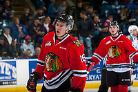 KELOWNA, CANADA - JANUARY 21: Henri Jokiharju #16 of the Portland Winterhawks skates against the Kelowna Rockets on January 21, 2017 at Prospera Place in Kelowna, British Columbia, Canada.  (Photo by Marissa Baecker/Getty Images)  *** Local Caption *** Henri Jokiharju;