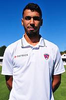 Farid Boulaya - 07.08.2015 - Evian Thonon / Clermont - 2eme journee de Ligue 2<br /> Photo : Philippe Lebrech / Icon Sport